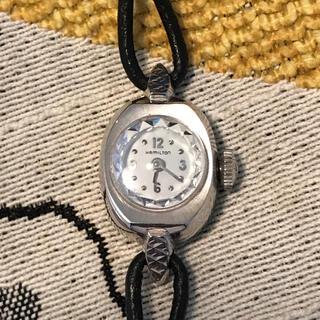 ハミルトン(Hamilton)のHamiltonハミルトン レディース  アンティーク時計 金張り 手巻き(腕時計)