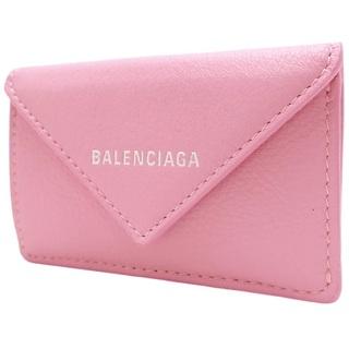Balenciaga - バレンシアガ 財布 ペーパー ミニ ウォレット ピンク 40800070716