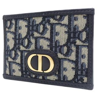クリスチャンディオール(Christian Dior)のディオール 30 MONTAIGNE カードホルダー 青 40800070707(名刺入れ/定期入れ)