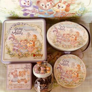 Disney - 【新商品】スプリングインブルーム*アソーテッド5点セット*ダッフィー*菓子 紅茶