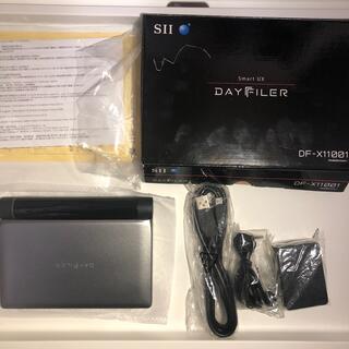 セイコー(SEIKO)のセイコーインスツル 電子辞書 DAYFILER DF-X11001(その他)