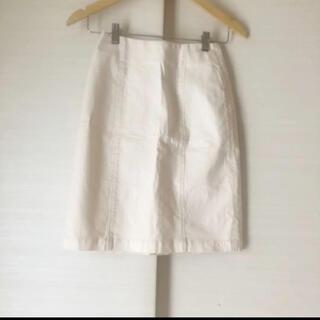 アナザーエディション(ANOTHER EDITION)の美品 アナザーエディション 膝丈スカート(ひざ丈スカート)