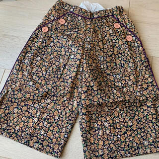Bonpoint - Bonjour diary pants (blue flower print)