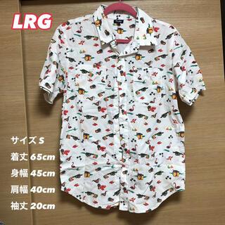 エルアールジー(LRG)のLRGエルアールジー 総柄カジュアルシャツ(シャツ)