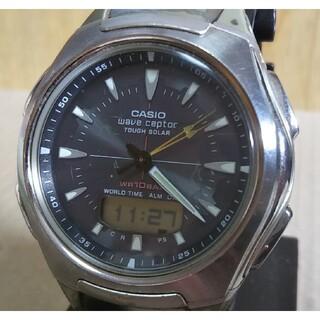 カシオ(CASIO)の訳あり CASIO カシオ WVA-430J 電波 ソーラー アナデジ 腕時計(腕時計(アナログ))
