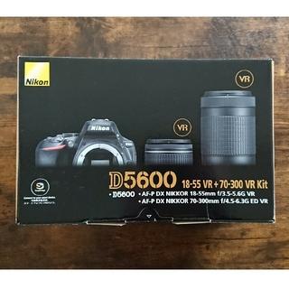 Nikon - 【ほぼ未使用】Nikon ニコン D5600 ダブルズームキット