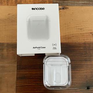 インケース(Incase)の新品 Incase AirPodsケース クリア 定価4180円(ヘッドフォン/イヤフォン)