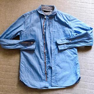 フレディアンドグロスター(FREDY & GLOSTER)のGLOSTER ダンガリーシャツ 丸襟 S(シャツ)