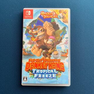 Nintendo Switch - ドンキーコング トロピカルフリーズ Switch