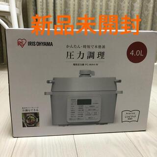 アイリスオーヤマ - 【新品未開封】アイリスオーヤマ 電気圧力鍋 PC-MA4-W