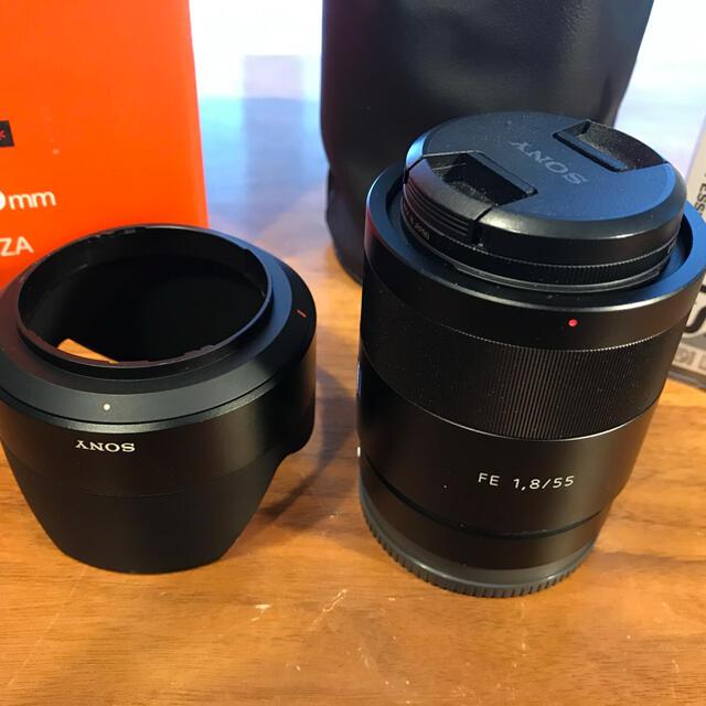 SONY(ソニー)の[美品]SONY T*FE55F1.8ZA スマホ/家電/カメラのカメラ(レンズ(単焦点))の商品写真