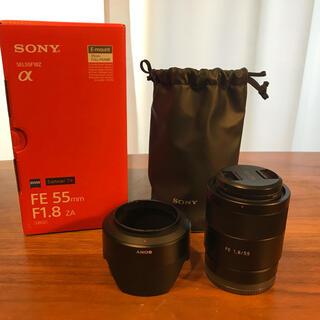SONY - [美品]SONY T*FE55F1.8ZA