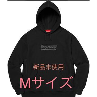 シュプリーム(Supreme)のシュプリーム KAWS Chalk Logo Hooded Sweatshirt(パーカー)