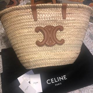 celine - セリーヌ かごバッグ ラフィア 保存袋 ケアカード