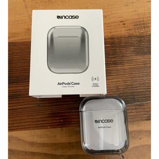 インケース(Incase)の新品 Incase AirPodsケース クリアスモーク定価4180円(ヘッドフォン/イヤフォン)