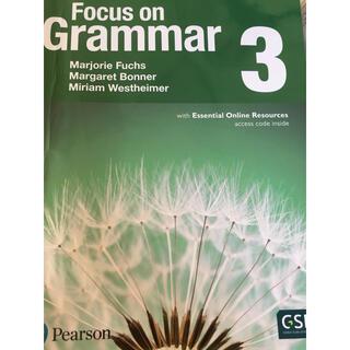 focus on grammar 3(語学/参考書)