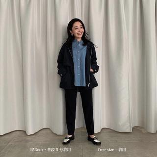 DEUXIEME CLASSE - YONFA マウンテンパーカー ネイビー