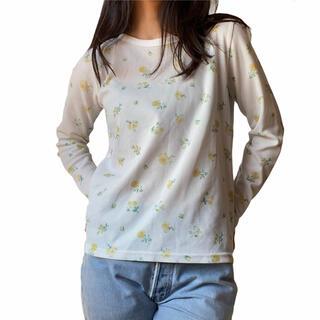 エディットフォールル(EDIT.FOR LULU)のフラワー トップス(Tシャツ(長袖/七分))