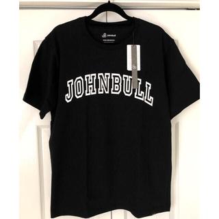 ジョンブル(JOHNBULL)のJohnbull ジョンブル メンズ 半袖 TEE ブラック 新品未使用タグ付(Tシャツ/カットソー(半袖/袖なし))