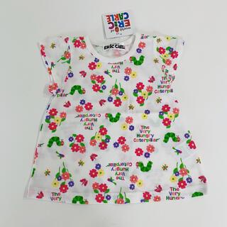 【新品タグ付】はらぺこあおむし  半袖Tシャツ カットソー 80