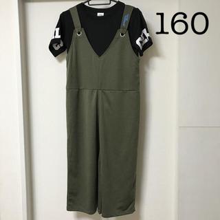 サロペットTシャツセット 160 sue(その他)