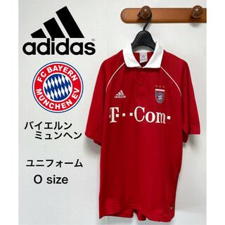 アディダス(adidas)のadidas アディダス バイエルン ユニフォーム ゲームシャツ Oサイズ(ウェア)