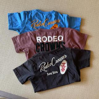 ロデオクラウンズ(RODEO CROWNS)のRODEO CROWNS 半袖Tシャツまとめ売り 120(Tシャツ/カットソー)