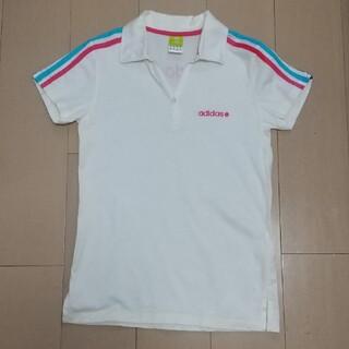 アディダス(adidas)のアディダス☆レディーススポーツシャツ(ポロシャツ)