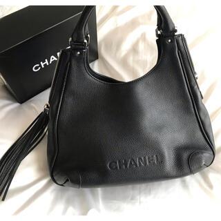CHANEL - 美品♡早い者勝ち♡シャネル CHANEL フリンジ ショルダーバッグ