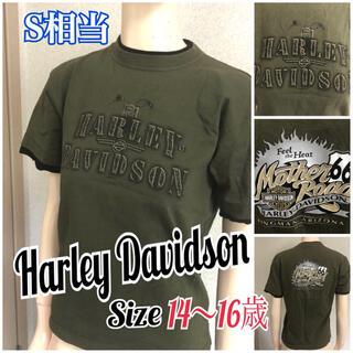 ハーレーダビッドソン(Harley Davidson)のハーレーダビッドソンアリゾナキングマンTシャツキッズ14〜16歳用女性Sとしても(Tシャツ(半袖/袖なし))