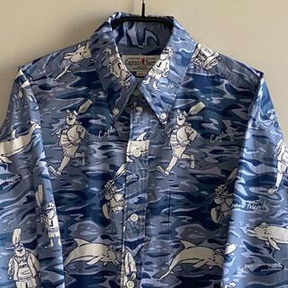 CAPTAIN SANTA - 《used》キャプテンサンタ メンズ シャツ ブルー ボタンダウンシャツ