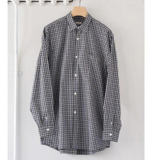 COMOLI - 19ss comoli タータンチェックシャツ