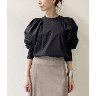 L'Appartement DEUXIEME CLASSE - L'Appartement Gather Blouse ブラック 新品タグ付き