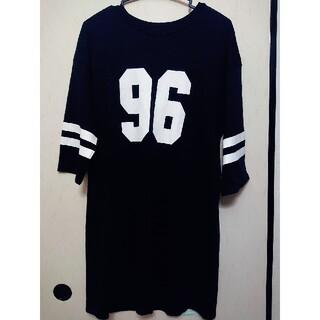GU - GU  ワンピース(ブラック) XL