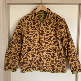 human made DUCK CAMO RANGER JACKET