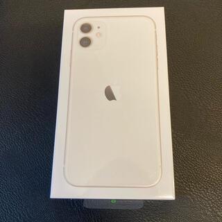 Apple - iPhone11 128GB ホワイト SIMフリー 新品未開封