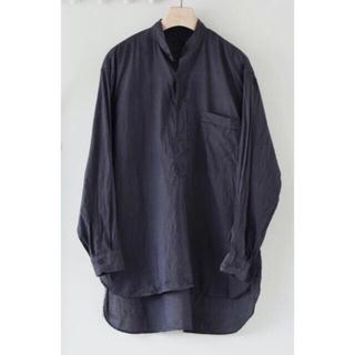 COMOLI - 【新品未使用タグ付き】21ss comoli コットンシルクプルオーバー シャツ