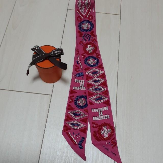 Hermes(エルメス)のこたみ様専用エルメスツイリー ケリーアンペルル レディースのファッション小物(バンダナ/スカーフ)の商品写真