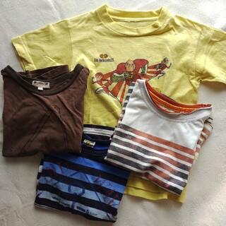 バックナンバー(BACK NUMBER)のTシャツ 4枚 セット 110cm(Tシャツ/カットソー)