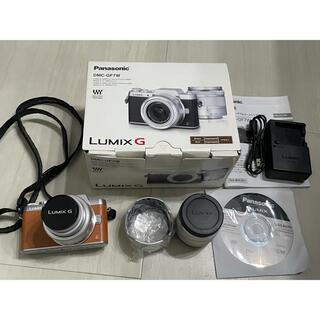 Panasonic - 値下げ*Panasonic DMC−GF7 DMC-GF7W-S