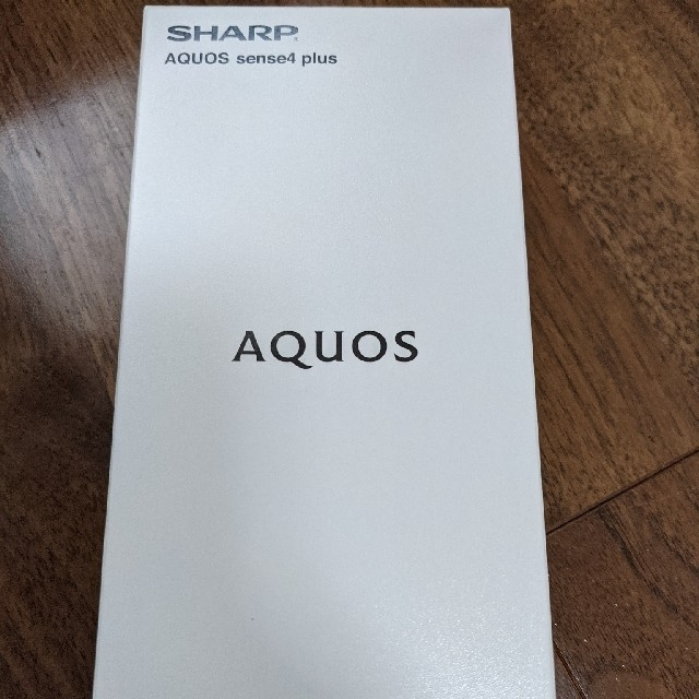 AQUOS(アクオス)のSHARP AQUOS Sense4 Plus ブラックSH-M16 美品 スマホ/家電/カメラのスマートフォン/携帯電話(スマートフォン本体)の商品写真