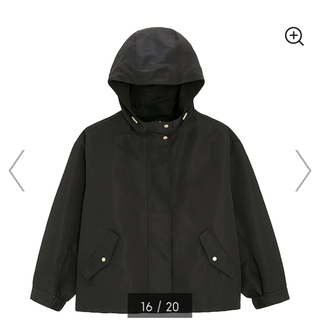 GU - GU マウンテンパーカー ブラック コート アウター