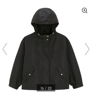 ジーユー(GU)のGU マウンテンパーカー ブラック コート アウター(チェスターコート)