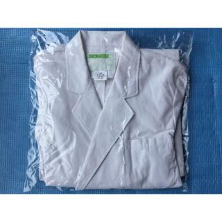 カゼン(KAZEN)のカゼン 診察衣 ダブル型長袖 メンズ 115-30   サイズМ(その他)