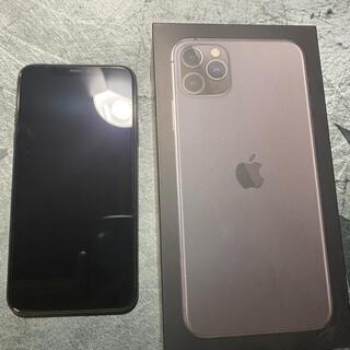 Apple - iPhone11 Pro Max 256gb【背面ひびあり】