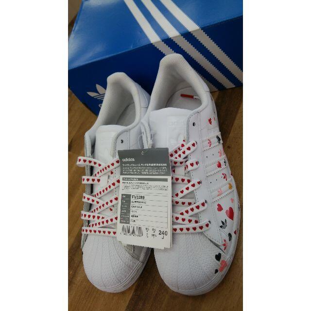 adidas(アディダス)のNiziU ニジュー ミイヒ着用 アディダス スーパースター レディースの靴/シューズ(スニーカー)の商品写真