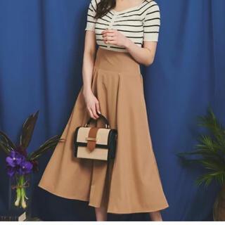 Noela - 【Noela】バックプリーツサス付スカート