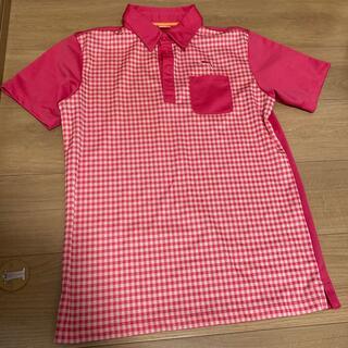 PUMA - ゴルフ プーマ ポロシャツ   ピンク メンズ M サイズ