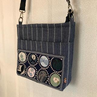 mina perhonen - ミナペルホネン サコッシュ タンバリン 手縫い キルト