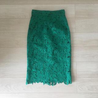 FRAY I.D - Fray I.D フラワータイトスカート